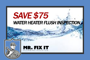 Coupons - Water Heater Flush and Inspection - Save $75